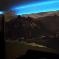 Daniel - Ljudabsorbenter med LED bakgrundsljus